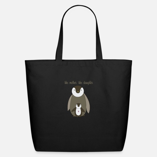 Mother's Day Bags & Backpacks - Like Mother Like Daughter - Eco-Friendly Tote Bag black