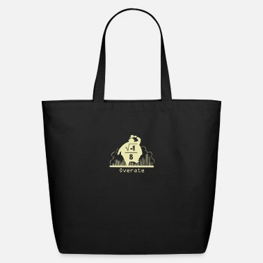 Over Overate - Eco-Friendly Cotton Tote