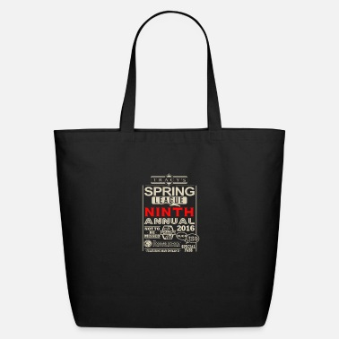 Annual Spring league ninth annual - Eco-Friendly Tote Bag