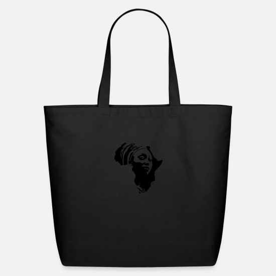 Africa Bags & Backpacks - Africa - Eco-Friendly Tote Bag black