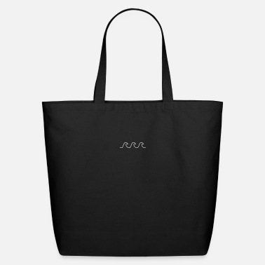Plain Wave Simple Outline - Eco-Friendly Tote Bag