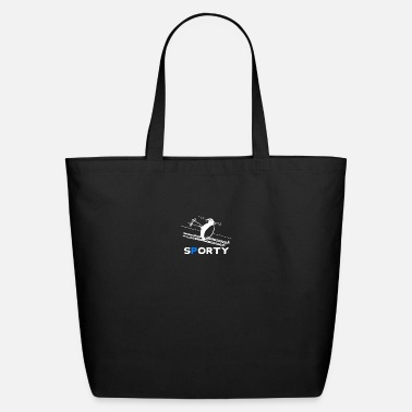 Sporty Sporty Penguin - Eco-Friendly Tote Bag