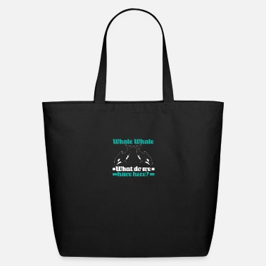 Plastic Sarcastic Whale What Do We Have Here - Eco-Friendly Tote Bag