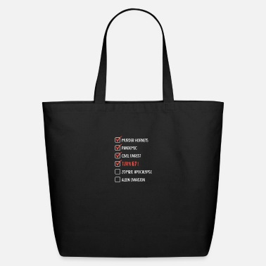 Turn On 67 Years Old -67th Birthday Gift Funny 2020 - Quar - Eco-Friendly Tote Bag