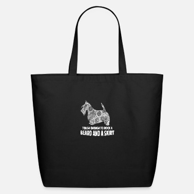 Skirt beard and a skirt - Eco-Friendly Tote Bag