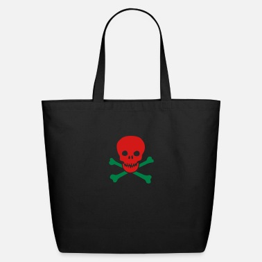 Witty skull - Eco-Friendly Tote Bag