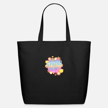 Party Spring Party Flower and Plants - Eco-Friendly Tote Bag