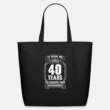 Birthday 40th Birthday - Eco-Friendly Tote Bag