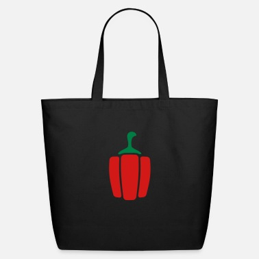 Chili Pepper Paprika pepper - Eco-Friendly Cotton Tote