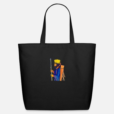 A Persian Guard A Persian Guard watercolor painting - Eco-Friendly Tote Bag