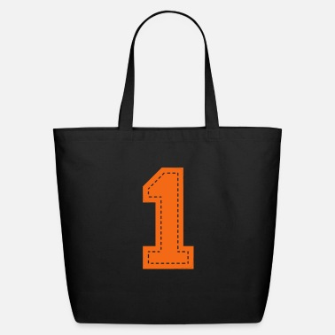 Birthday Number One Patch - Eco-Friendly Tote Bag