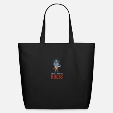 Cutthroat Island No rules pirate pirate kids gift - Eco-Friendly Tote Bag