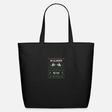 Glühwein Funny Christmas quote No Glühwein NO Fun apparel - Eco-Friendly Tote Bag