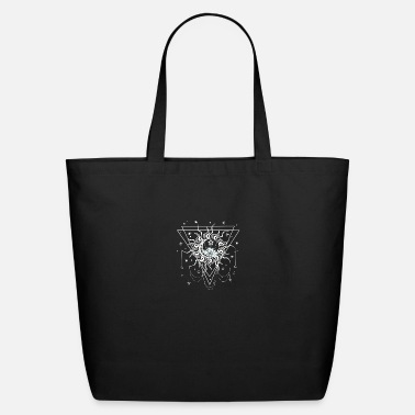 Octagon sun moon star - Eco-Friendly Tote Bag