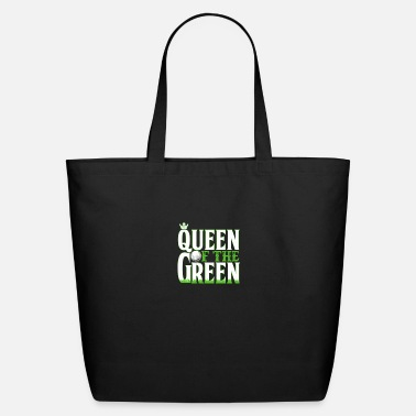 Golf Funny Golf Queen Of The Green Golfing - Eco-Friendly Tote Bag