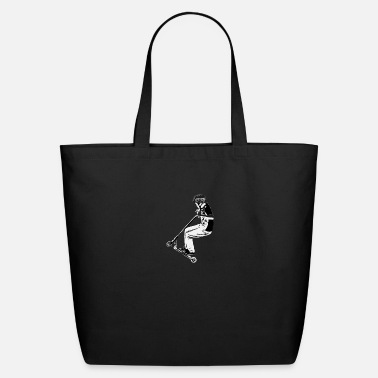 Scooter Scooter Jump - Stunt Scooter Move - Eco-Friendly Tote Bag