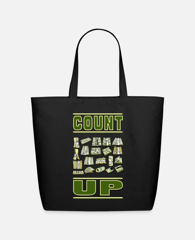 Schland Bags & Backpacks - Count Up - Eco-Friendly Tote Bag black