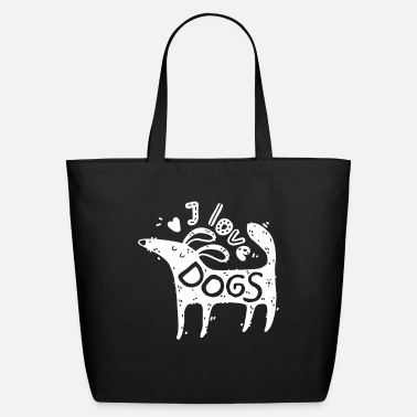 dogs gift pug dachshund sayings trainer dogge - Eco-Friendly Tote Bag