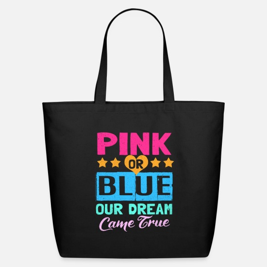 Gender Bags & Backpacks - Gender Reveal - Eco-Friendly Tote Bag black