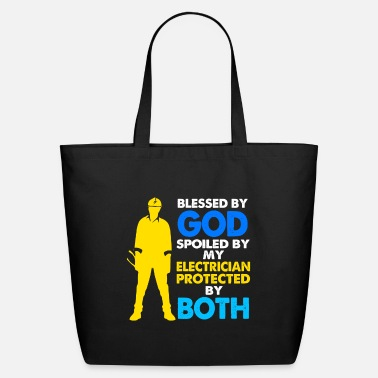 Electricity Electrician Electrical Engineer Electricity Volt - Eco-Friendly Tote Bag