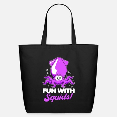 Squid Octopus Tentacle Ink Calamari Ocean Oracle - Eco-Friendly Tote Bag