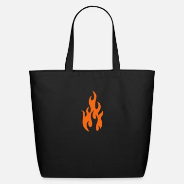 Humor tattoo flames 1 - Eco-Friendly Tote Bag