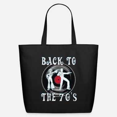 Vintage 70s Back to the 70's| 70's Decade| Retro Vintage Style - Eco-Friendly Tote Bag