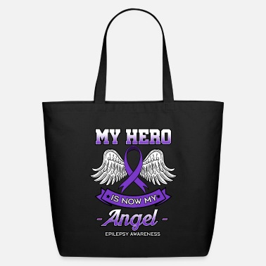 Wing My Hero Is Now My Angel - Eco-Friendly Tote Bag