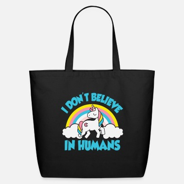 Christmas 12_I don't believe in humans - Eco-Friendly Tote Bag
