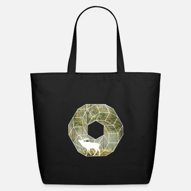 Forest deer forest nature gift celtic - Eco-Friendly Tote Bag