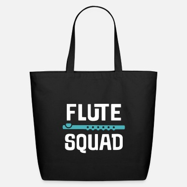 Band Flute Squad Marching Band Music - Eco-Friendly Tote Bag