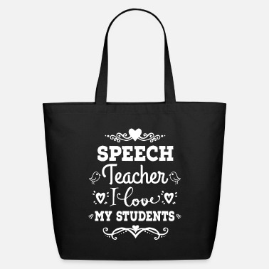 Speech Teacher Back to School - Eco-Friendly Tote Bag