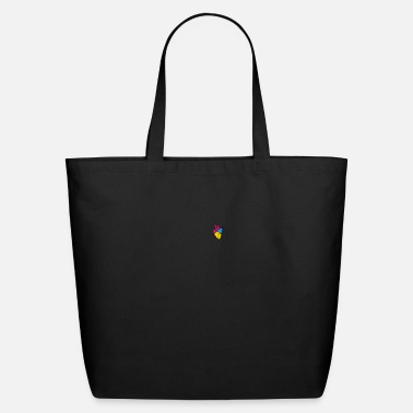 Fly Pan Pride LGBTQ Retro Pansexual Heart - Eco-Friendly Tote Bag