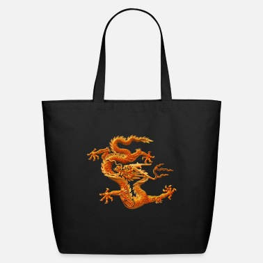 Chinese Loong Funny Chinese loong.Funny,Cool,Humor,Fun,Geek,Hipster,dr - Eco-Friendly Tote Bag