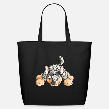 Australian Cattle Dogs Cartoon Funny Australian Cattle Dog - Dogs - Eco-Friendly Tote Bag
