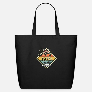 Legend Vintage May 50 Year 1970 50th Birthday Gift - Eco-Friendly Tote Bag