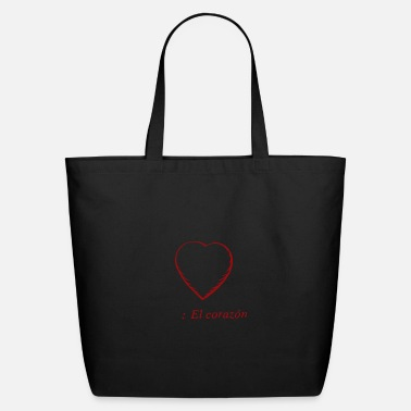 Corazon Loving El Corazon - Eco-Friendly Tote Bag