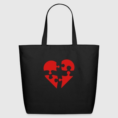 puzzled - Eco-Friendly Cotton Tote