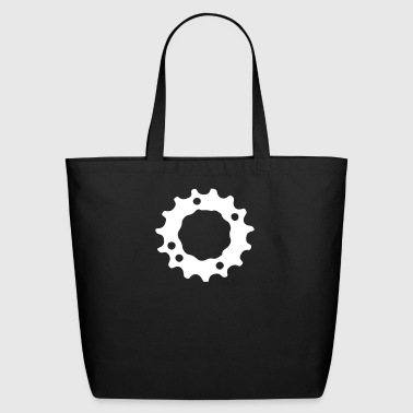 Wheel Gear Ring Mountainbike MTB Downhill 1c - Eco-Friendly Cotton Tote