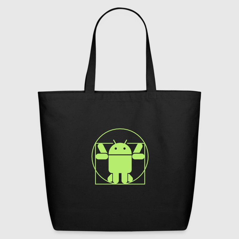 Vitruvius android - Eco-Friendly Cotton Tote