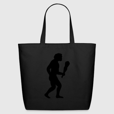 Caveman - Primal man - Eco-Friendly Cotton Tote