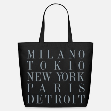 Detroit Detroit - Eco-Friendly Cotton Tote