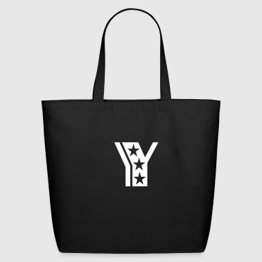 y_letter_star - Eco-Friendly Cotton Tote