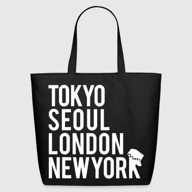 Girls' Generation - Mr. Taxi (White Flex Print) [C - Eco-Friendly Cotton Tote