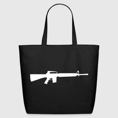 Assault Rifle - Eco-Friendly Cotton Tote