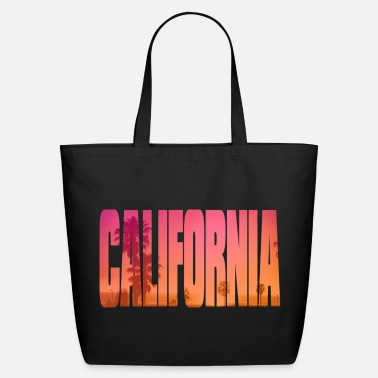 Graphic california - Eco-Friendly Cotton Tote