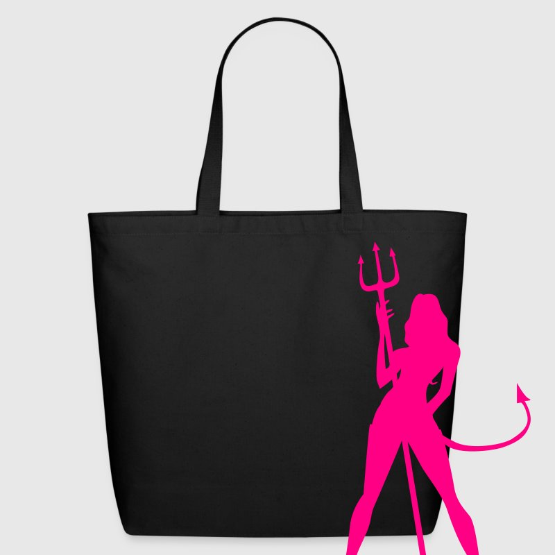 Devil Girl, Hot - Eco-Friendly Cotton Tote