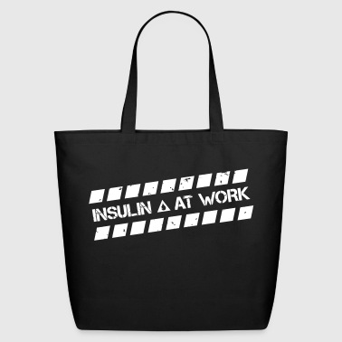 Insulin At Work - Eco-Friendly Cotton Tote