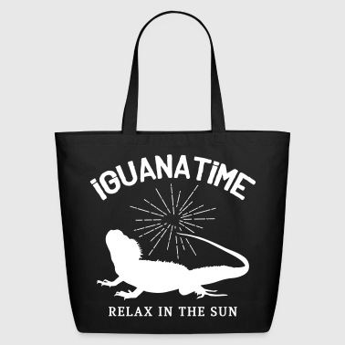 Iguana Time - Eco-Friendly Cotton Tote