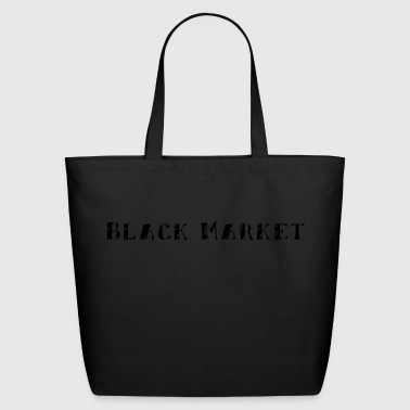 black - Eco-Friendly Cotton Tote